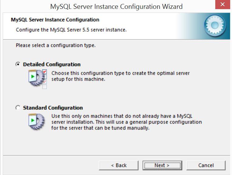 MySQL Server Instance Configuration Wizard1