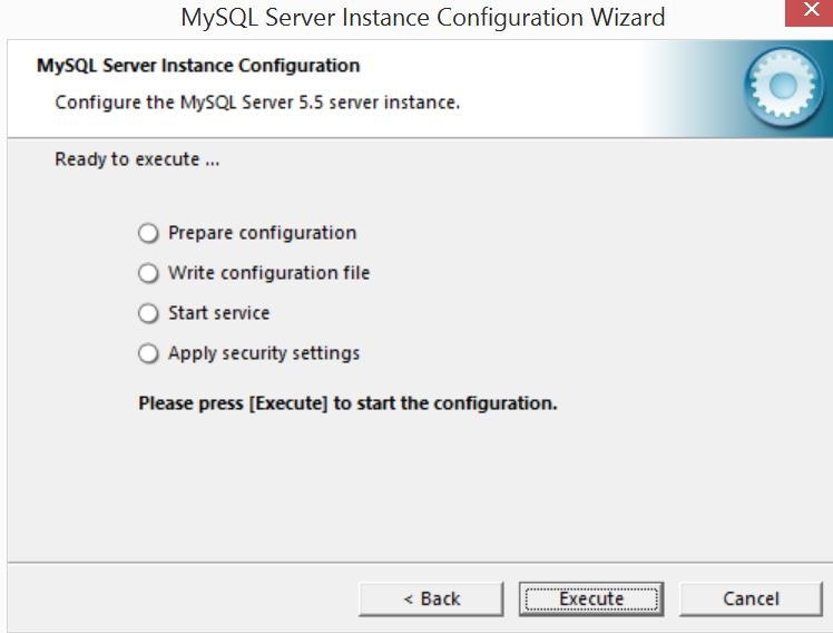 MySQL Server Instance Configuration Wizard10