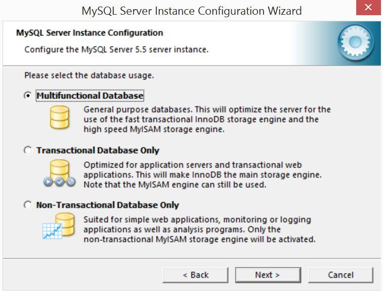 MySQL Server Instance Configuration Wizard3